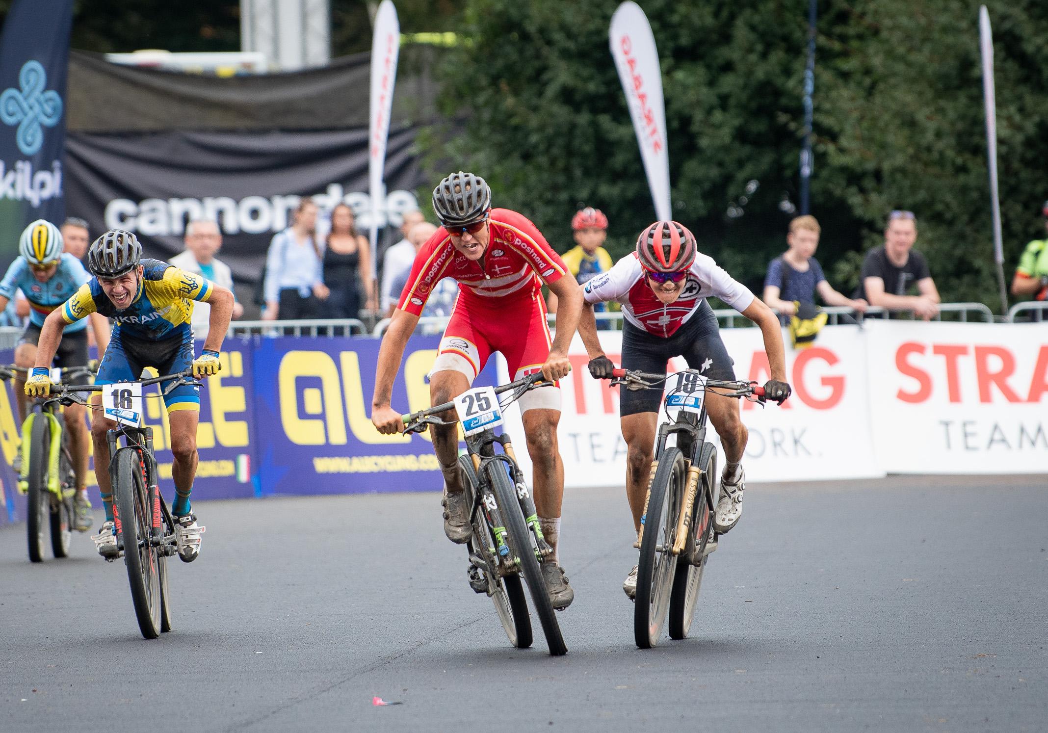 16, Moiseiev, Hennadii, , , UKR 25, Philipsen, Victor, , , DEN 19, Kluser, Tim, Bike Team Solothurn, Bbb Biel Bienne Bikers, SUI
