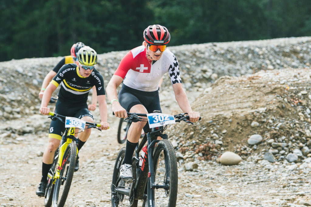 302, Wiedmann, Luke, Bike Team Solothurn, , SUI 303, Lillo, Dario, Scott development MTB Team, VC Eschenbach, SUI