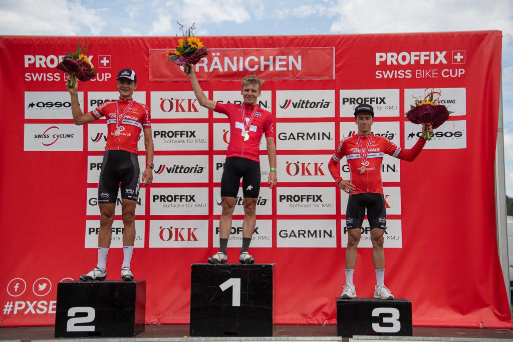 2102, Balmer, Alexandre, Thömus - RN, , SUI 2101, Roth, Joel, Bike Team Solothurn, RC Gränichen, SUI 2103, Albin, Vital, Thömus - RN, , SUI