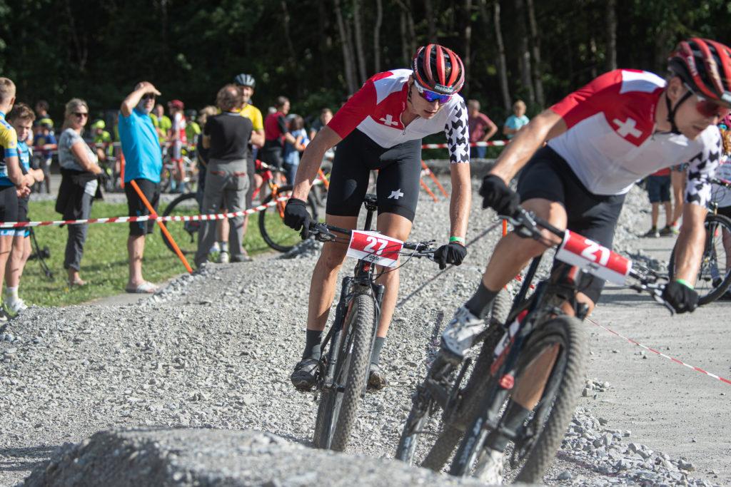 21, Roth, Joel, Bike Team Solothurn, RC Gränichen, SUI 27, Püntener, Fabio, Bike Team Solothurn, VMC Silenen, SUI