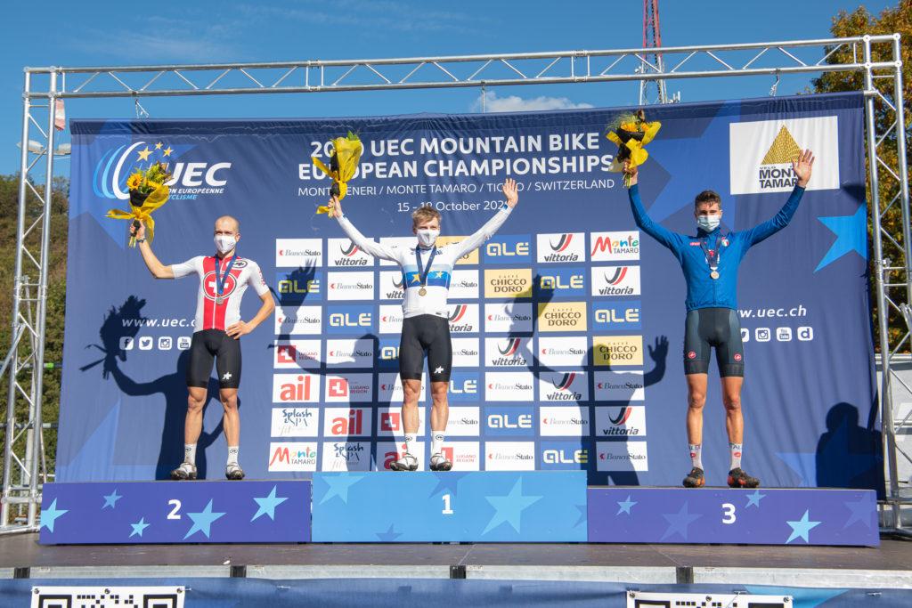 4, Albin, Vital, Thömus - RN, , SUI 3, Roth, Joel, Bike Team Solothurn, RC Gränichen, SUI 11, Zanotti, Juri, KTM - Protek - Dama, VC Monte Tamaro - BMC, ITA